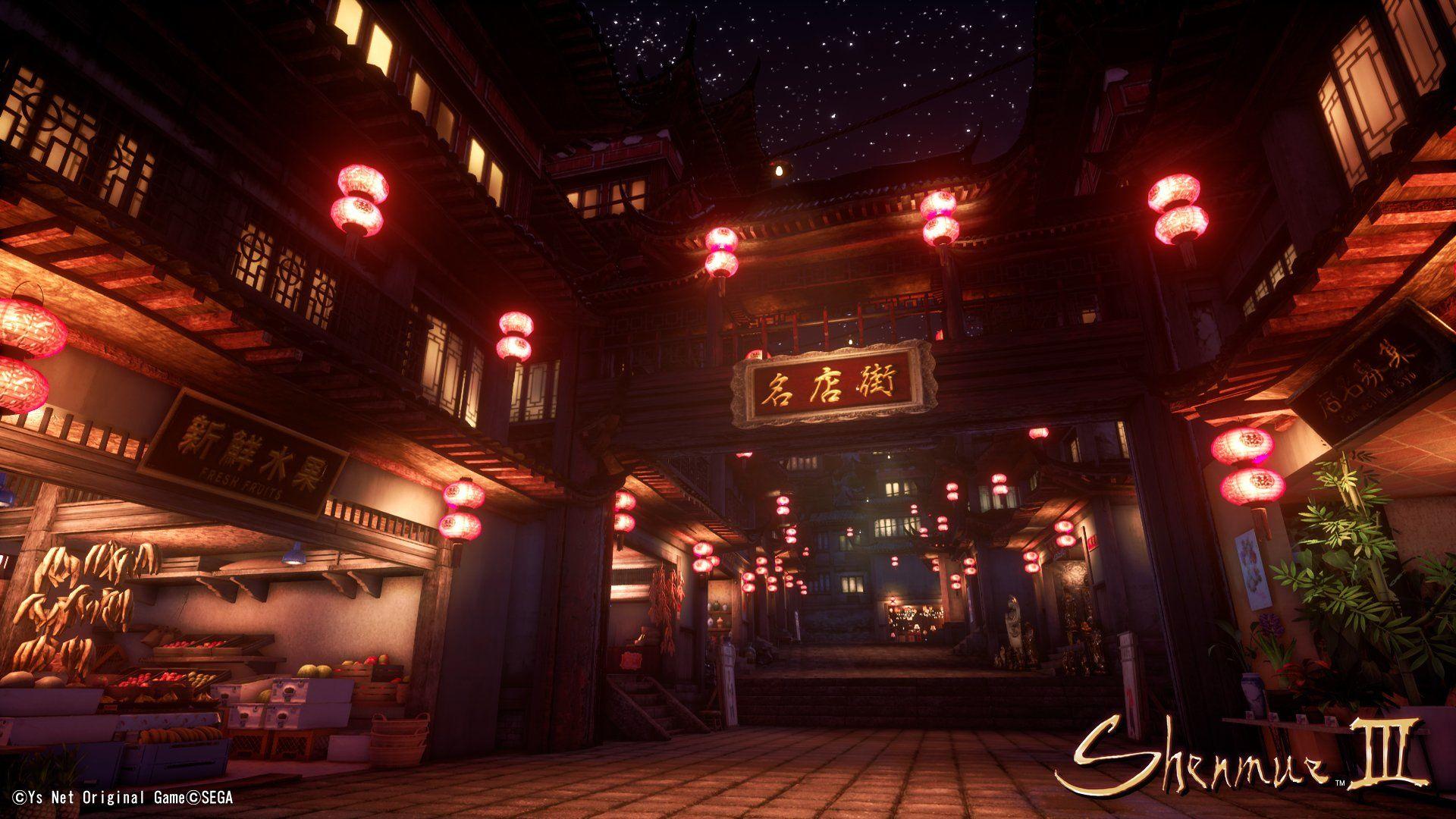 Shenmue 3 için yeni ekran görüntüleri yayınlandı
