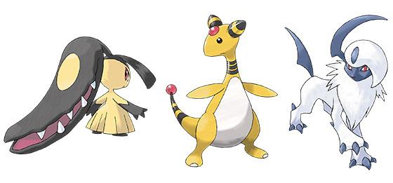 Pokemon X and Y'ın Mega pokemonları