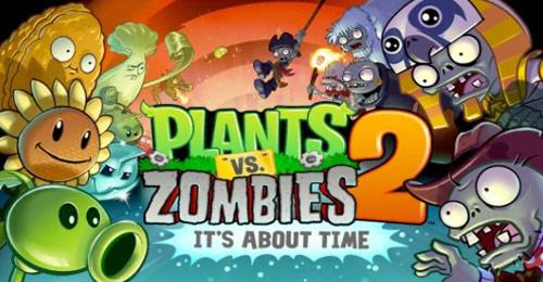 Plants vs. Zombies 2 bugün iOS'a çıktı!