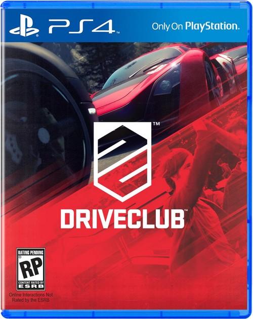 DriveClub'ın kapak görseli