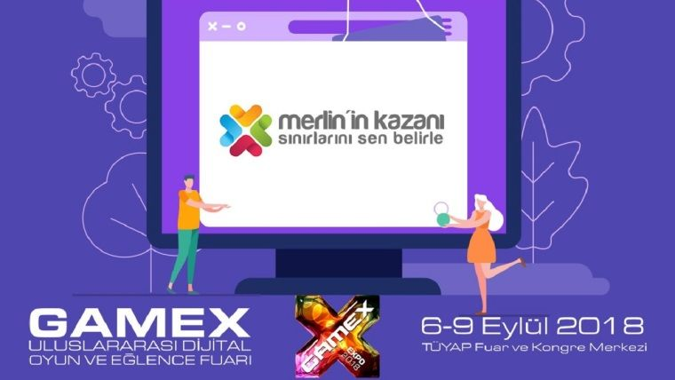 Gamex 2018 oyun fuarının dijital medya partneri olduk