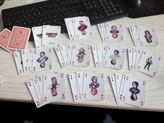Gangstar: Vegas'tan deste deste kart (Görsel)