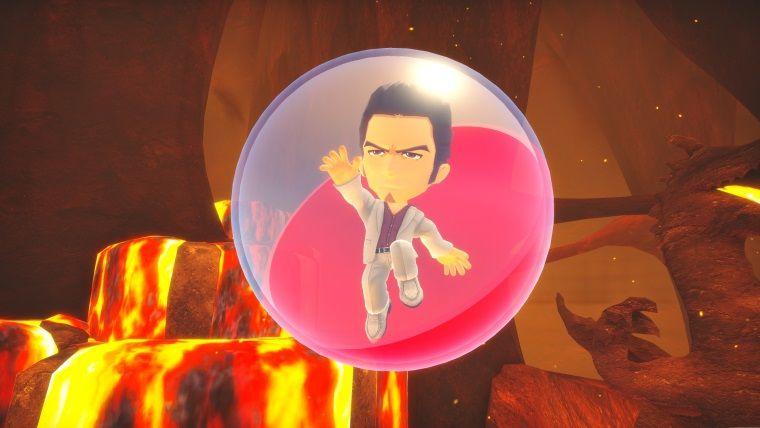 Efsanevi Yakuza Kazuma Kiryu, Super Monkey Ball'a dahil oluyor