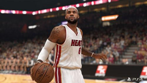 NBA 2K14'ün PS4 görüntüleri TV'de!