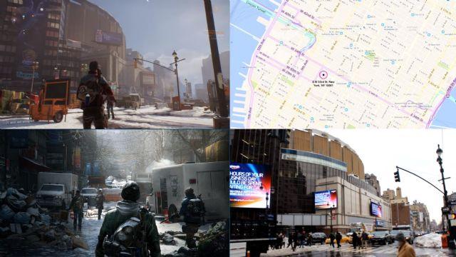 The Division vs. gerçek New York
