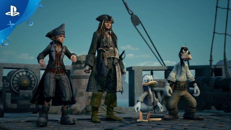 Kingdom Hearts III Pirates of the Caribbean dünyası duyuruldu