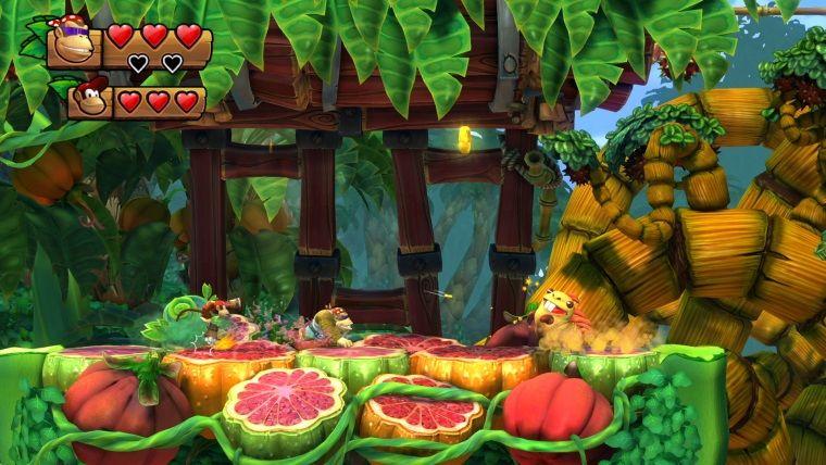 Donkey Kong Country: Tropical Freeze'deki DK ailesi tanıtıldı