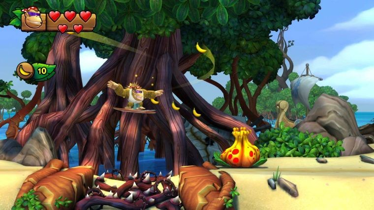 Donkey Kong Country: Tropical Freeze'in Funky Mode'u tanıtıldı
