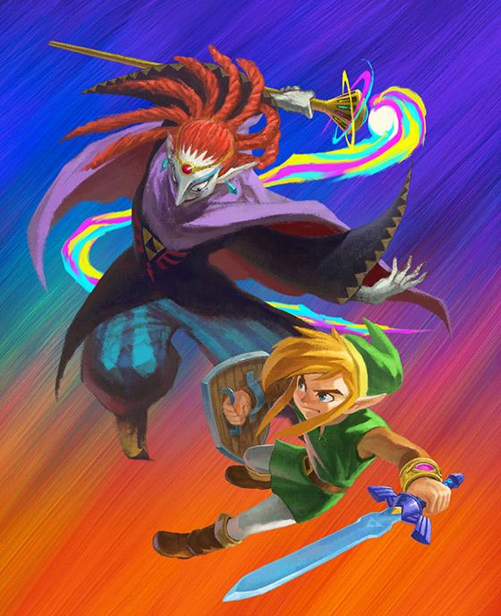 Zelda efsanesine özel görseller