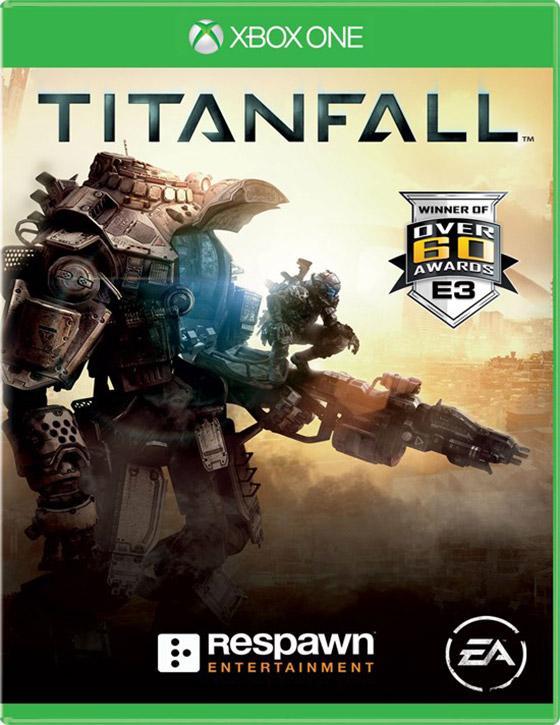 Titanfall'un kapak görseli bu mu?