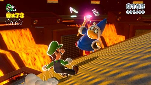 Super Mario 3D World'den mükemmele yakın notlar!