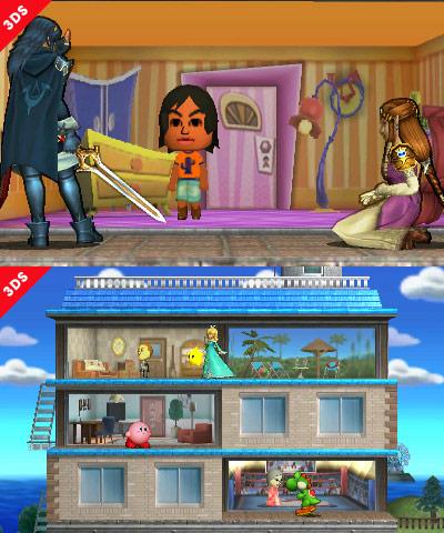 Super Smash Bros'ta Tomodachi Life bölümü de bulunacak