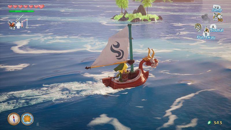 The Legend of Zelda Wind Waker Unreal Engine ile yeniden yapılmış