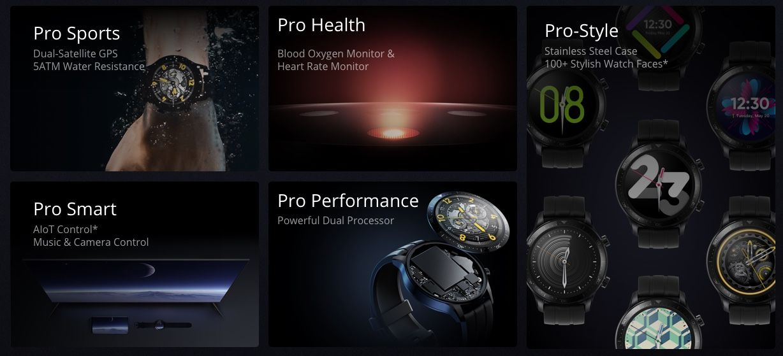 Realme Watch S Pro tanıtıldı