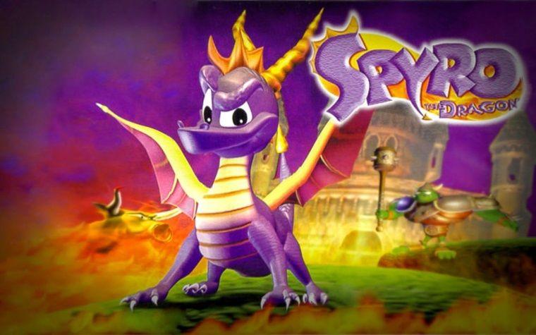 Sevilen ejderha Spyro'nun ilk üç oyunu tekrar bizimle olacak