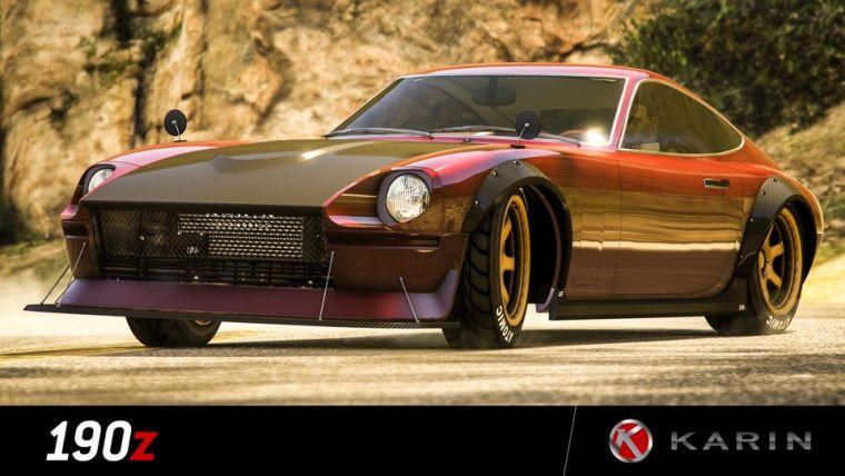Grand Theft Auto: Online'a ait yeni bir araç görücüye çıktı