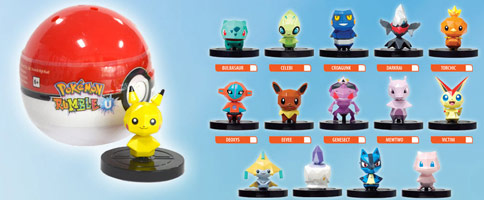 Pokemon Rumble U oyuncakları satışta!