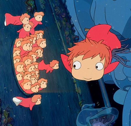 Anime & Manga #43 Küçük Deniz Kızı Ponyo