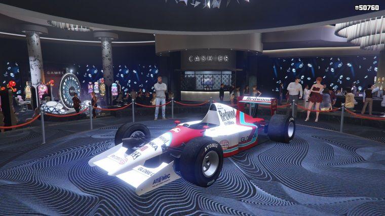GTA Online'a formula araçları eklendi