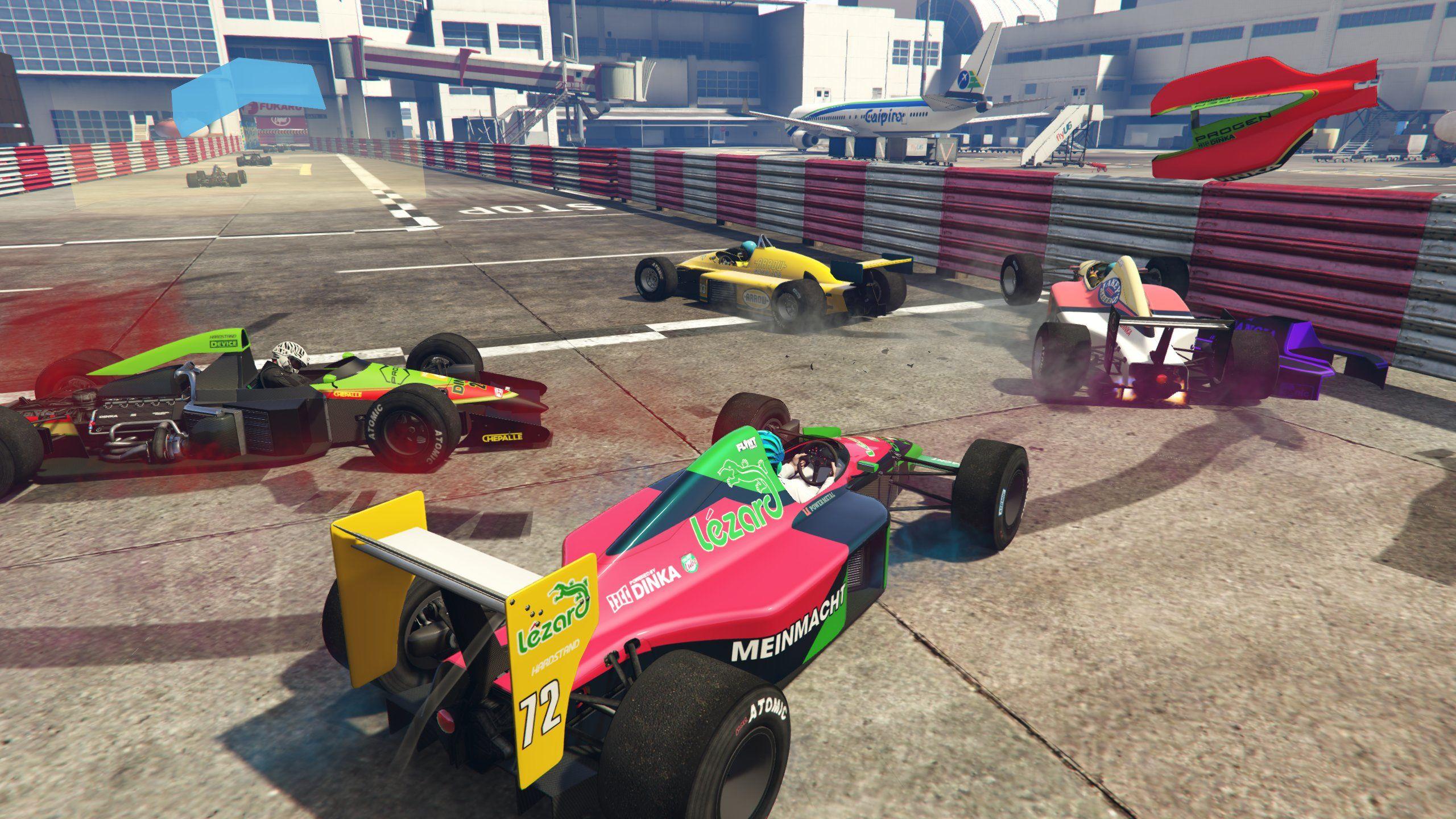 GTA Online'ye formula araçları eklendi
