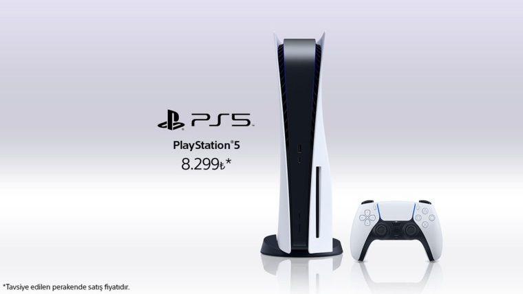 PlayStation 5 Türkiye fiyatı sonunda belli oldu
