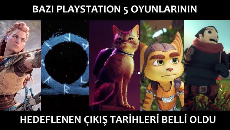Sony bazı PlayStation 5 oyunlarının çıkış tarihini doğruladı