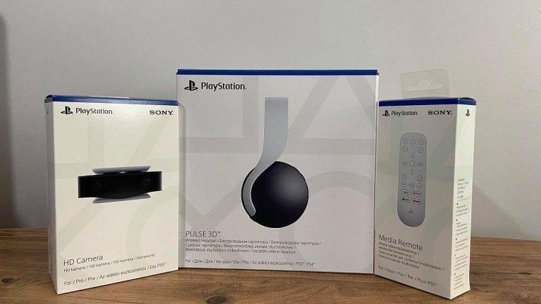 PS5 3D kulaklık, kamera ve kumandası kutudan çıkıyor