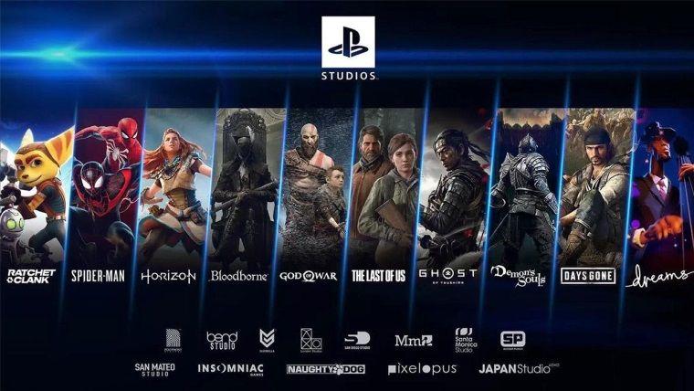 Playstation stüdyoları 25 oyun geliştiriyor ve yarısı yeni IP