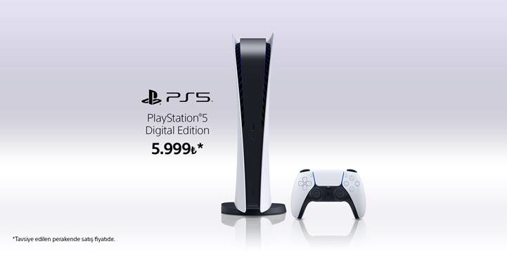 Playstation 5 Dijital Sürüm Türkiye fiyatı belli oldu