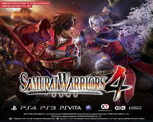 Samurai Warriors 4, Playstation'larınızı parçalayacak