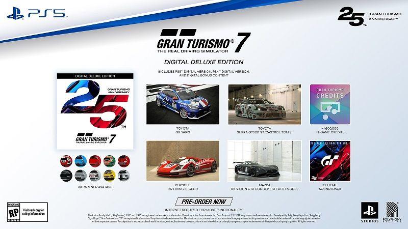 Gran Turismo 7 ön sipariş fiyatı ve bonusları belli oldu
