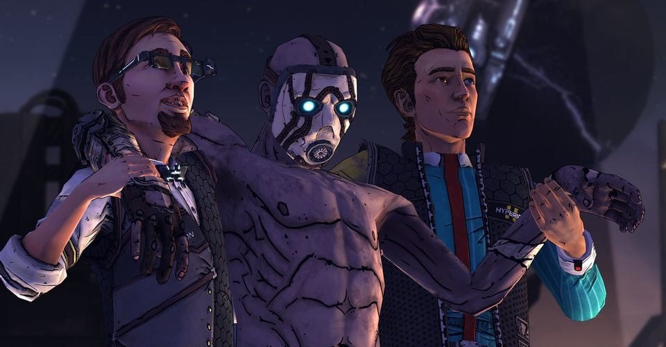 Tales from the Borderlands released for Switch