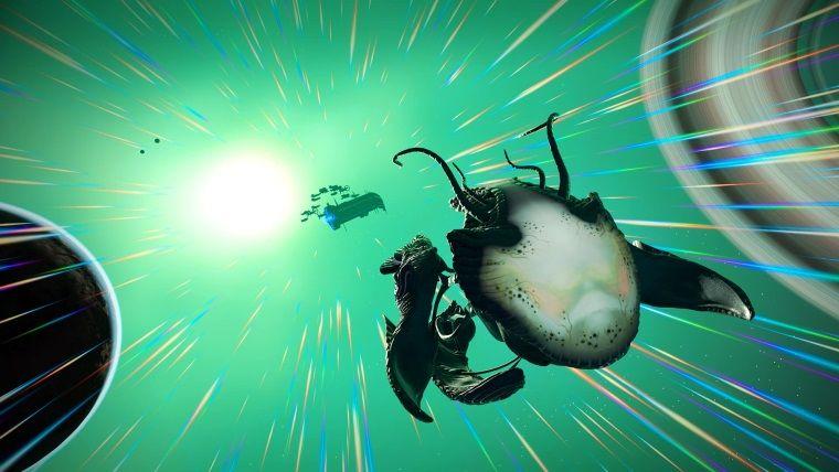 No Man's Sky, Living Ship güncellemesi yayınlandı