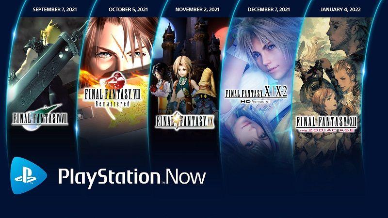 PlayStation Now aboneleri, Final Fantasy yağmuruna tutuluyor
