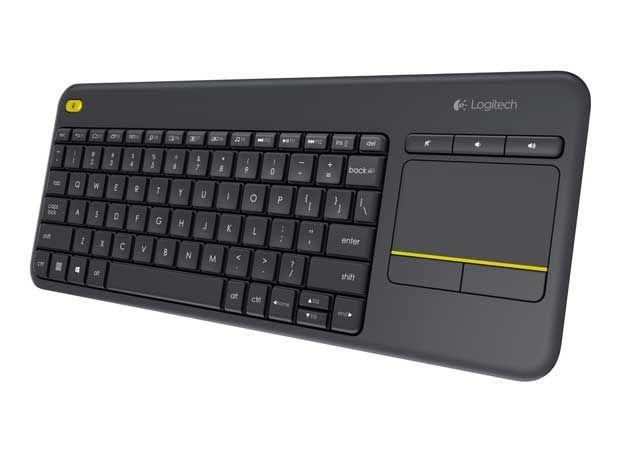 Logitech K400 Plus ile televizyonunuzu kontrol edin