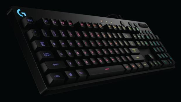Logitech G, RGB Mekanik Oyuncu Klavyesi serisini genişletiyor