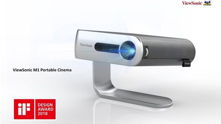 ViewSonic'in taşınabilir projeksiyon cihazı dikkat çekiyor