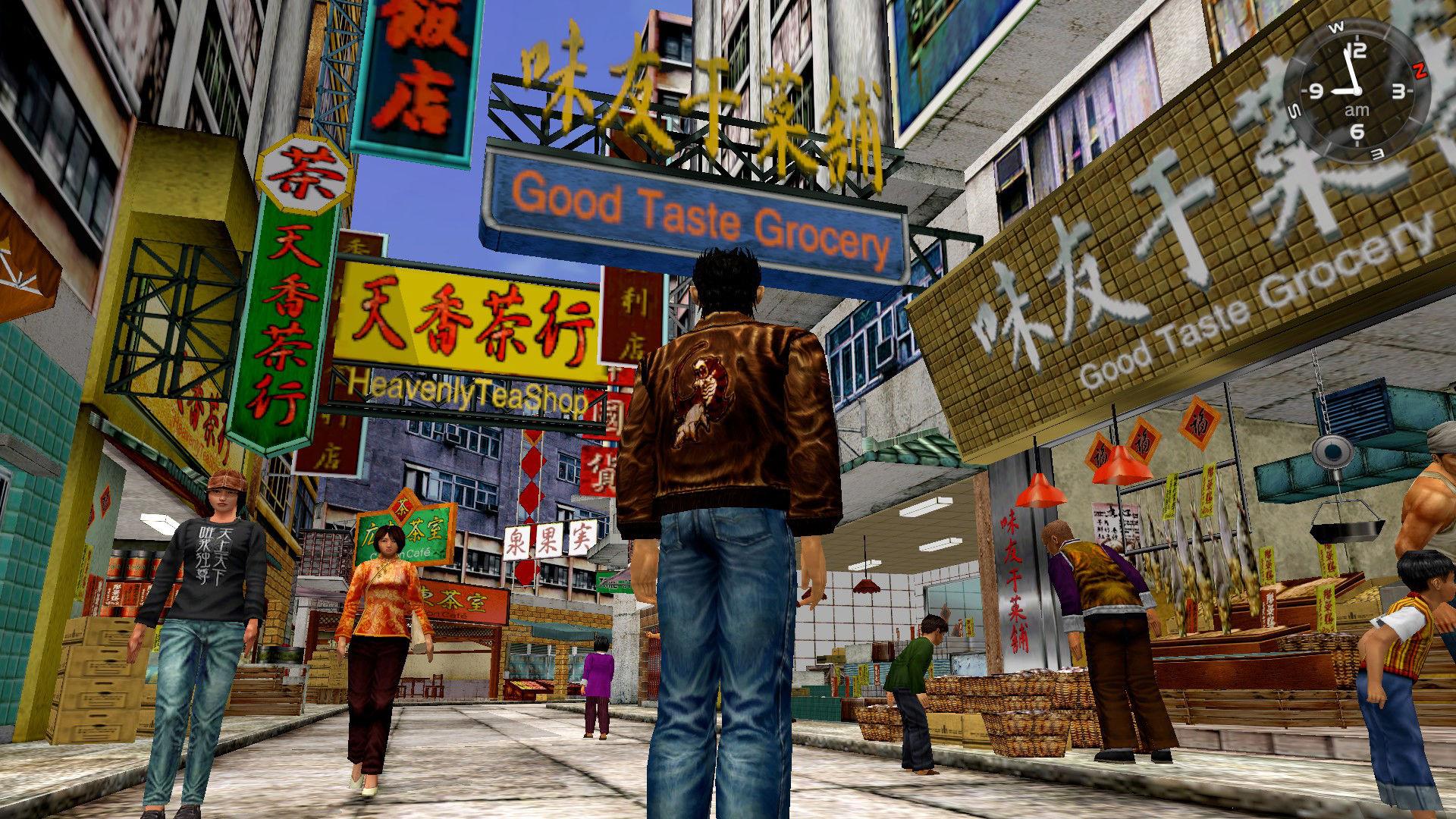 Shenmue I ve II HD'ye ait yeni ekran görüntüleri yayınlandı